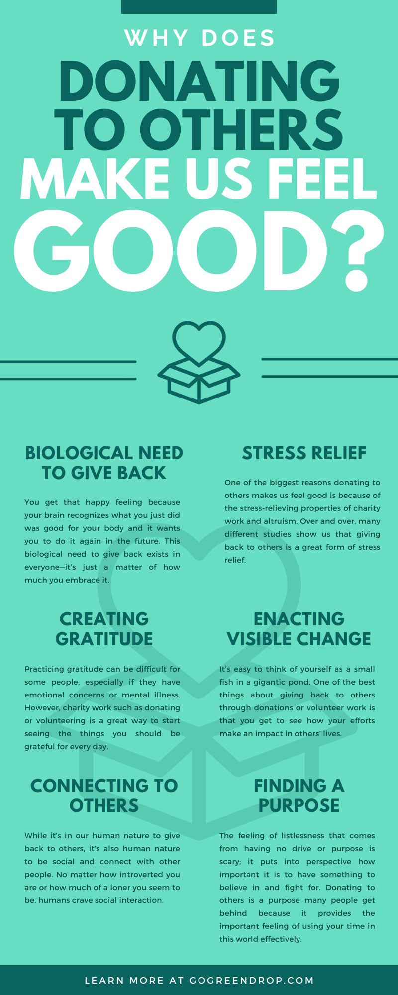 Why Does Donating To Others Make Us Feel Good?